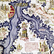 Marco Polo (1254-1324) Art Print