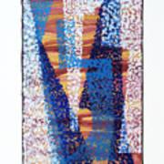 01325 Blue Too Art Print