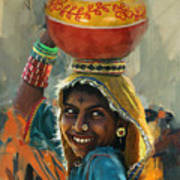 028 Sindh Art Print