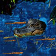 04142015 Gator Hole Art Print