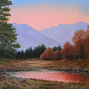 051116-3020     First Light Of Day   Art Print