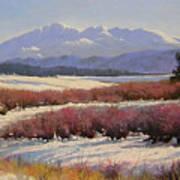 051209-1814  Pikes Peak - North View Art Print