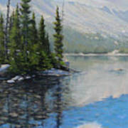 060126-1814  Shallow Waters Art Print