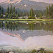 060923-2430  Reflections At Days End   Art Print