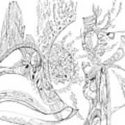 Flow.    0710-1 Art Print