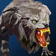 073. Once A Werewolf Always A Werewolf Art Print