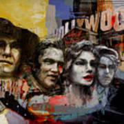 074 Hollywood Wax Museum Art Print