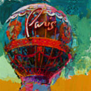 075 The Iconic Paris Casino Balloon Art Print