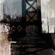 083 Manhattan Bridge Art Print