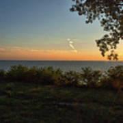 0874- Lake Michigan Sunset Art Print