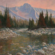 090504-1216   Rocky Creek Art Print