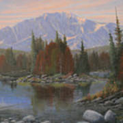 090506-1418   Colorado Morning Art Print