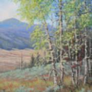 090925-68   The Peak Of Summer Art Print