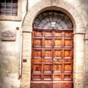 0959 Assisi Italy Art Print