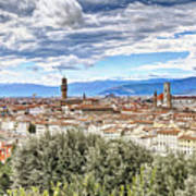 0960 Florence Italy Art Print