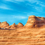 Famous Delicate Arch In Arches National Park Art Print