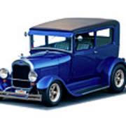1928 Ford Tudor Sedan I Art Print