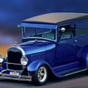 1928 Ford Tudor Sedan II Art Print