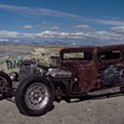 1932 Chevrolet Rat Rod Art Print