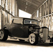 1932 Ford Lil' Deuce Coupe Art Print