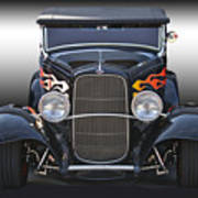 1932 Ford 'traditional' Hot Rod Roadster Art Print