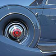 1937 Packard Automobile Art Print
