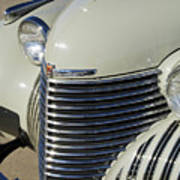 1940 Cadillac 60 Special Sedan Grille Art Print
