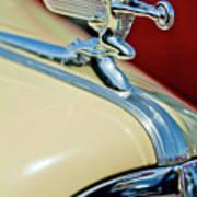 1940 Packard Hood Ornament Art Print by Jill Reger