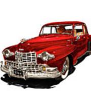 1946 Lincoln Continental Mk I Art Print