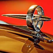 1947 Buick Roadmaster Hood Ornament Art Print