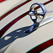 1949 Custom Buick Hood Ornament Art Print