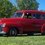 1953 Chevrolet Suburban Art Print