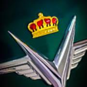 1954 Chrysler Imperial Sedan Hood Ornament Art Print