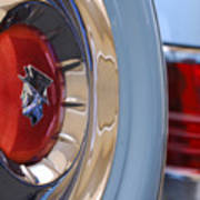 1954 Mercury Monterey Merco Matic Spare Tire Art Print