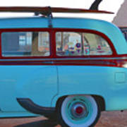 1954 Pontiac Chieftain Station Wagon Art Print