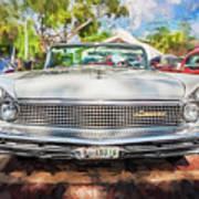 1959 Lincoln Continental Town Car Mk Iv Painted  Art Print