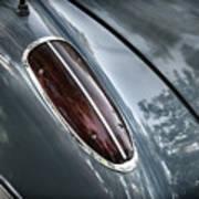 1960 Chevrolet Corvette Taillight Art Print