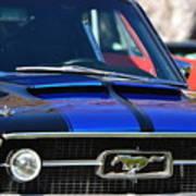 1967 Mustang Fastback Art Print