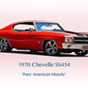 1970 Chevelle Ss454 Art Print