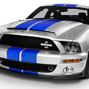 2008 Shelby Ford Gt500kr Art Print