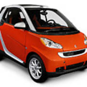 2008 Smart Fortwo City Car Art Print