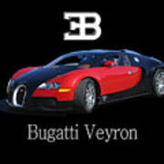 2010 Bugatti Veyron Art Print