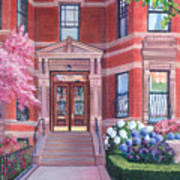 238 Marlborough Street Art Print