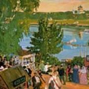 43785 Boris Kustodiev Art Print
