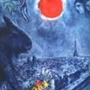4dpictdswq Marc Chagall Art Print