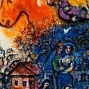 4dpictfdrew3 Marc Chagall Art Print