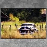 53 Pontiac Art Print