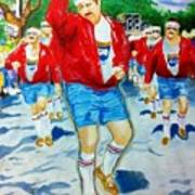 610 Stompers Art Print by Terry J Marks Sr