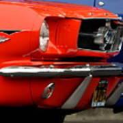 66 Mustang Fastback Art Print