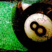 8 Ball Art Print
